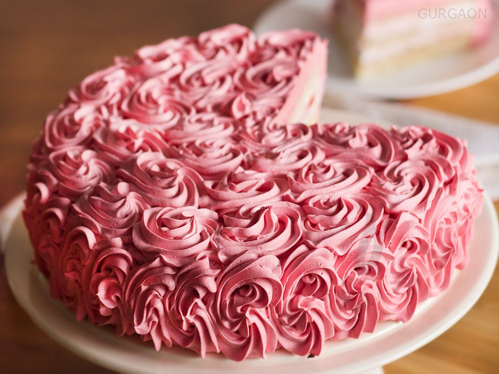 mother's day heaven strawberry cake