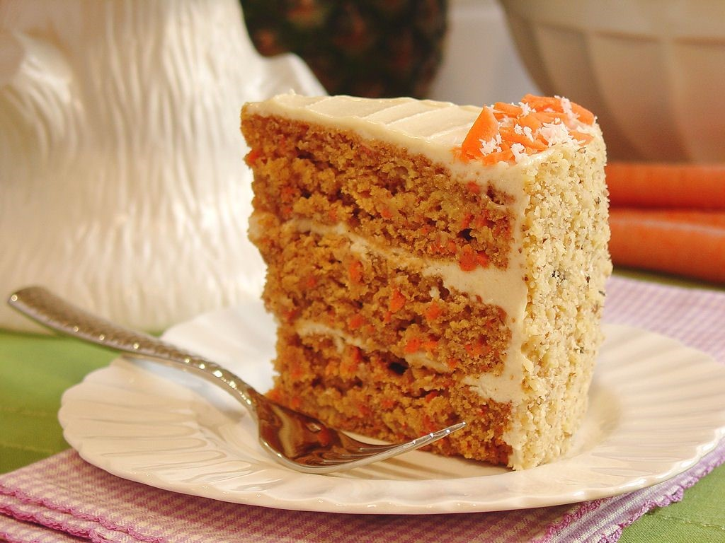 Pineapple Honey Carrot Cake