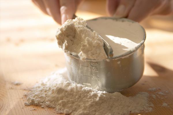 flour temperature in baking
