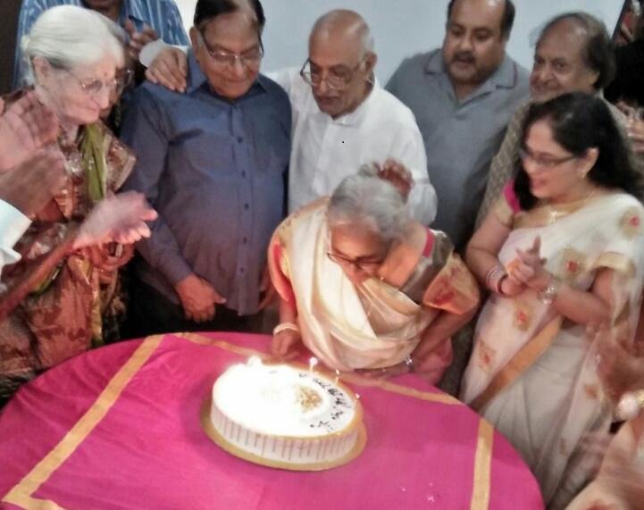 Birthday Celebration with Bakingo Cake