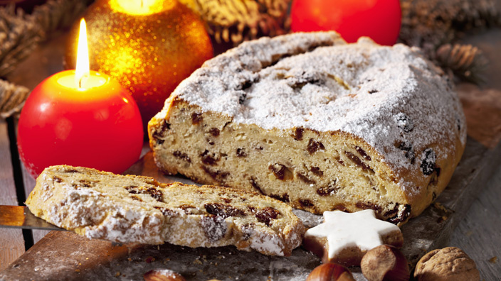 Germany: Christstollen Christmas Cake