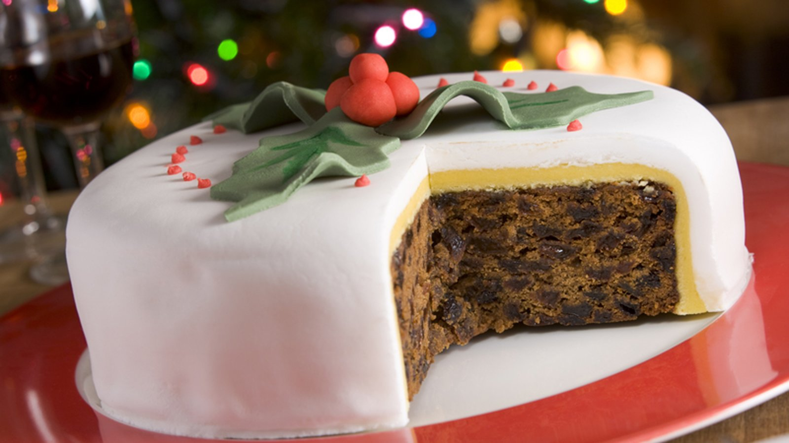 United Kingdom Christmas Cake