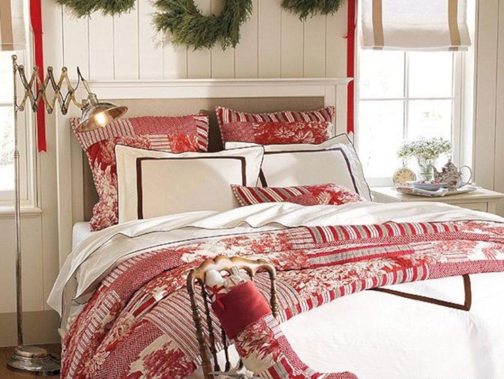 Bedroom decoration ideas on christmas