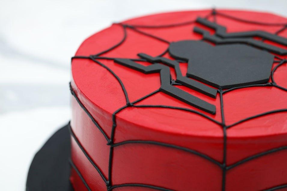 Batman Hit With Cake