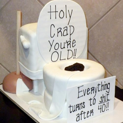 holy crap birthday cake
