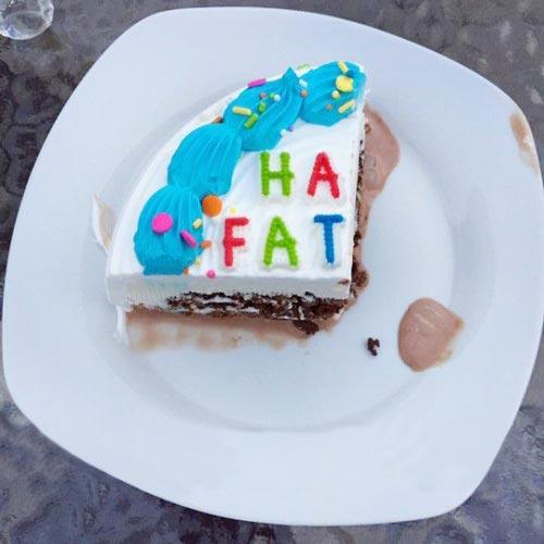 slice of a cake