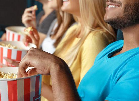 Movie Marathon with popcorn