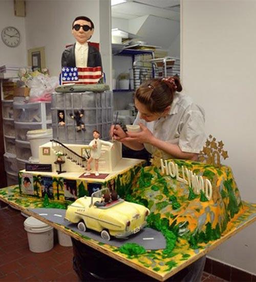 50thBirthday Cake of Tom Cruise