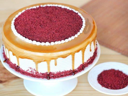 Red Velvet Coffee Cake