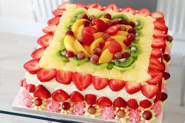 Heavy Stuffed Fruit Cake