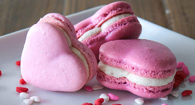 Heart shape Macarons