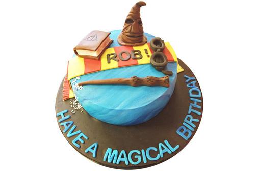 Bookaholics cake