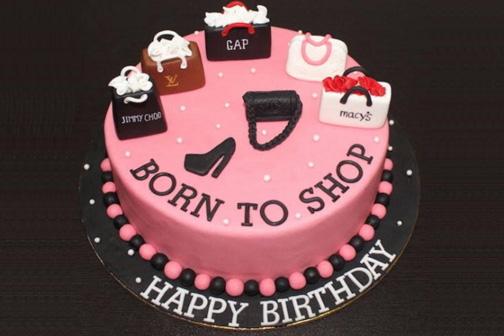 Shopping cake