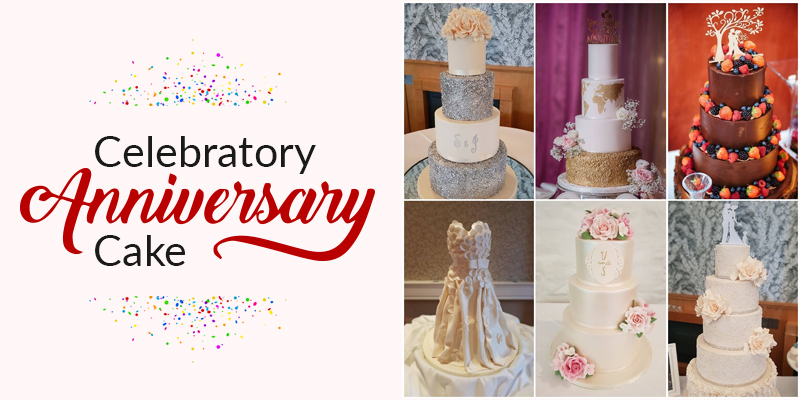 Amazing anniversary cakes