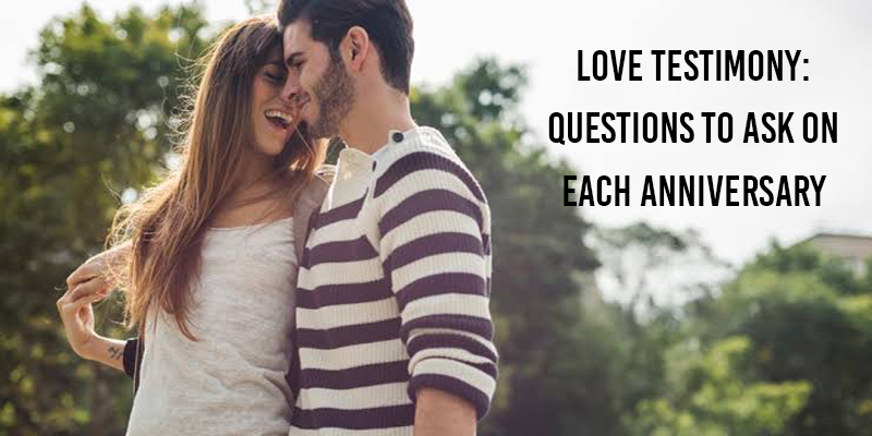 Questions to Ask on Each Anniversary