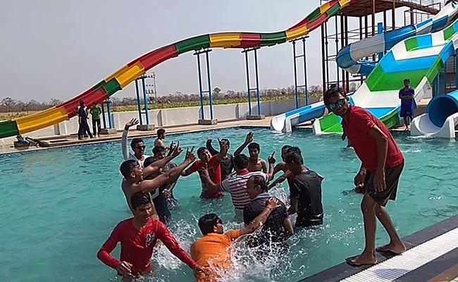 Fun at water park