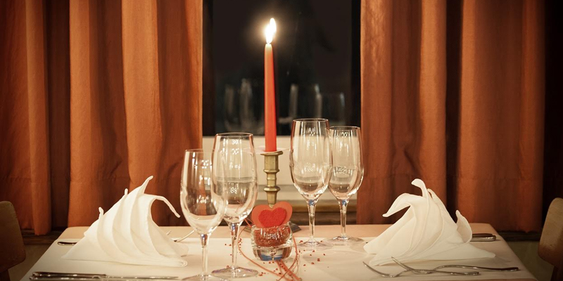 Celebrate valentine's day at Home