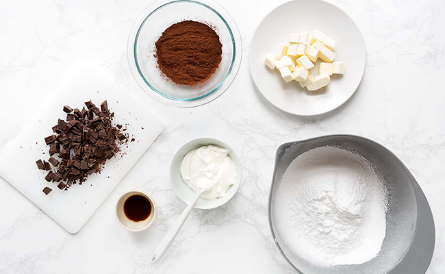 Chocolate Cake Frosting Ingredients