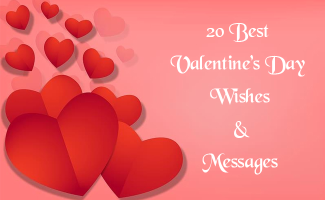 Best valentine's day wishes and messages