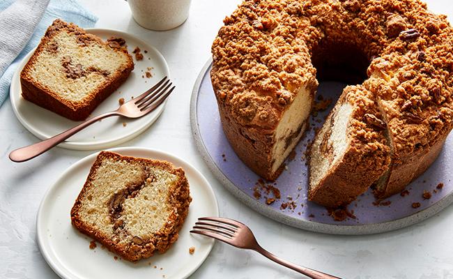 coffee cake pound