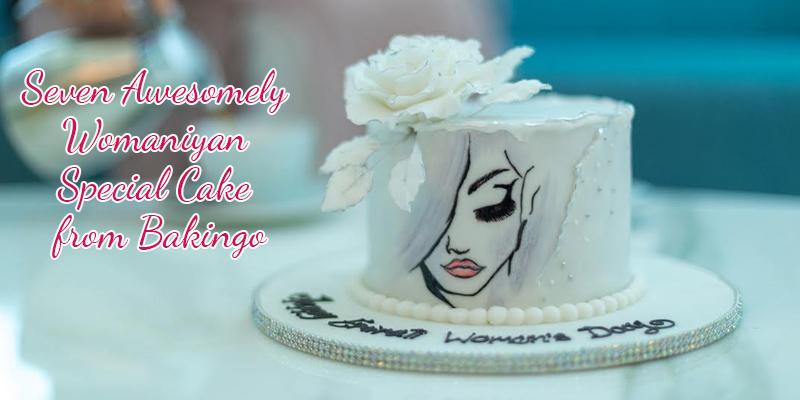 Women's Day Cakes