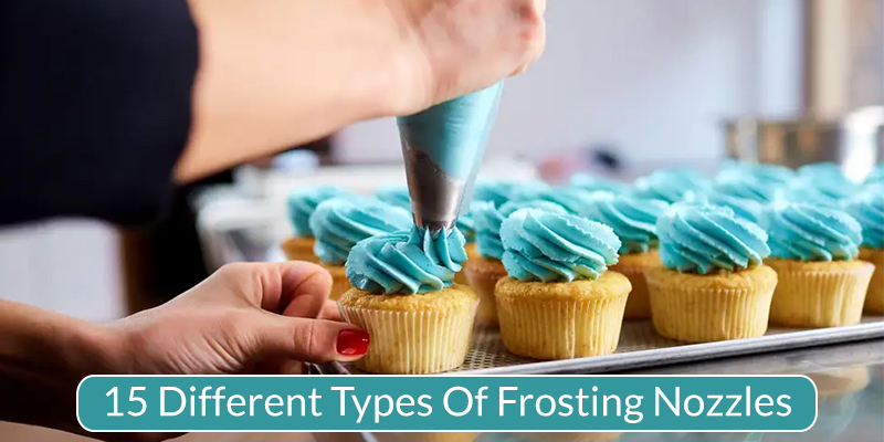 Different Icing Nozzles