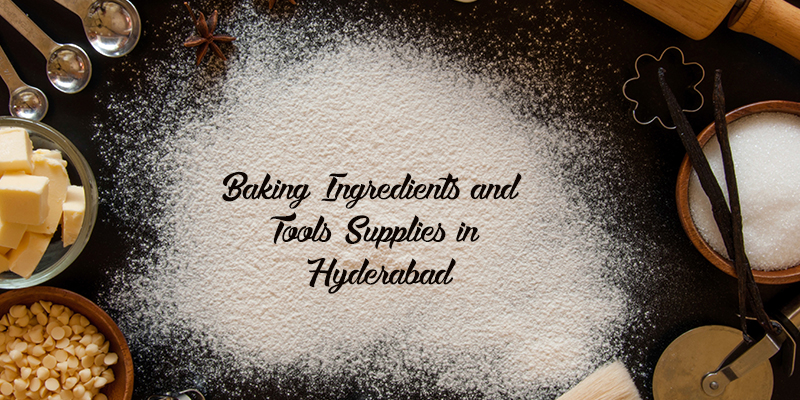 Baking ingredient and tool shops in Hyderabad