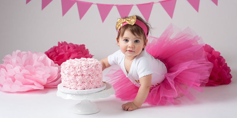Pleasing Best Twelve 1St Birthday Cake Ideas For Baby Girl Bakingo Blog Funny Birthday Cards Online Elaedamsfinfo