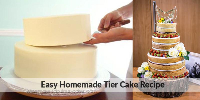 Homemade Tiered Cake Recipe