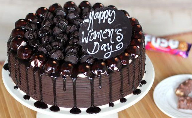 Happy Womens Day Cake
