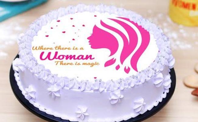Women Magic Cake