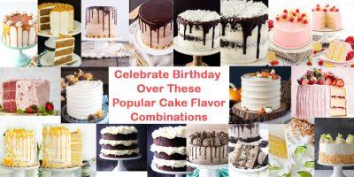 Popular Cake Flavor Combinations
