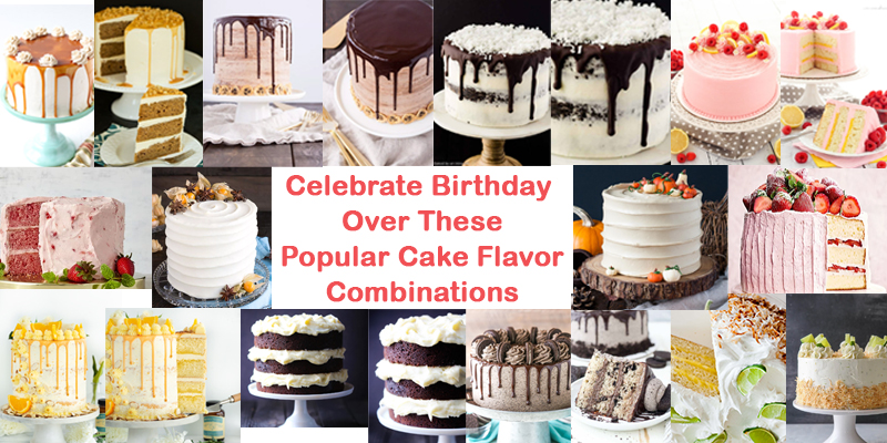 Cool Popular Cake Flavours Best Cake Flavour Combinations Personalised Birthday Cards Paralily Jamesorg