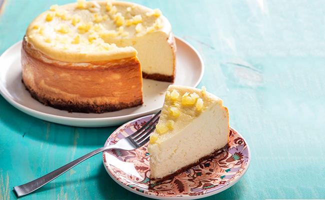 Lemon Ricotta Cake for Mom