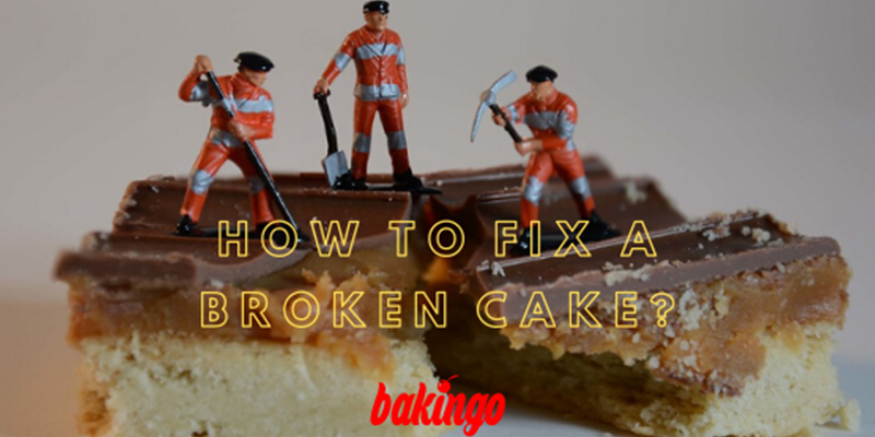 How to Fix a Broken Cake