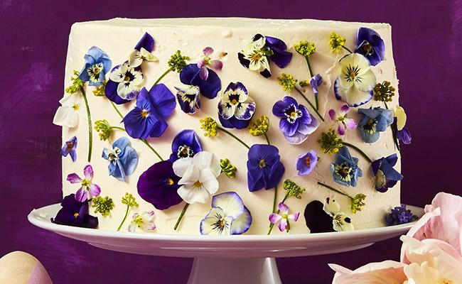 Vanilla Blossom Cake