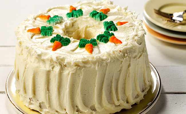 Pineapple Carrot Cake for Mothers Day