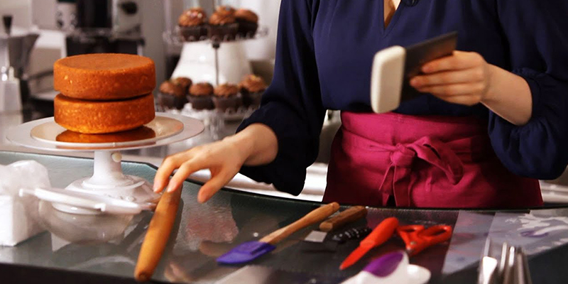basic cake making tools