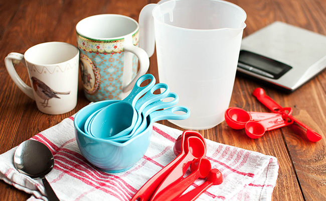 Measurement Cups and Spoons