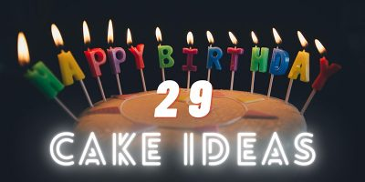 29th birthday cake ideas cover