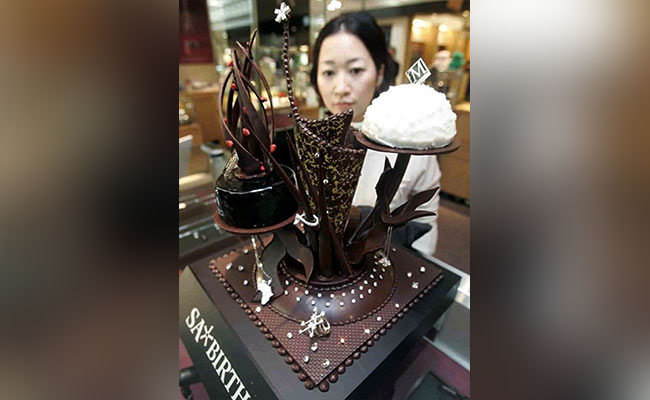 Masami Miyamoto's Diamond Chocolate Cake - One of the most expensive cake
