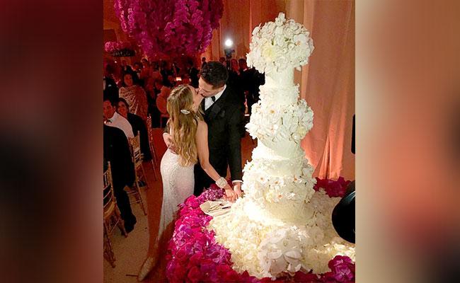 Sofía Vergara And Joe Manganiello Wedding Cake