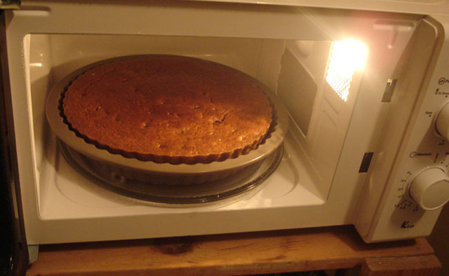 Bake Cake without Convection