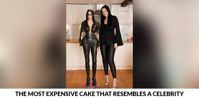 Cake that Resembles a Celebrity