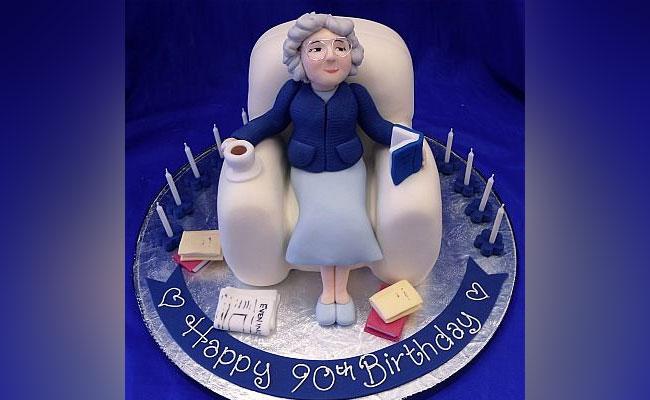Stylish Grandma Cake