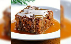 Ginger Cake With Rum Butter