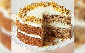 Parsnip And Orange Spiced Cake