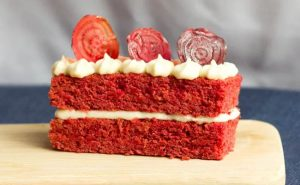 Beetroot And Vanilla Cake