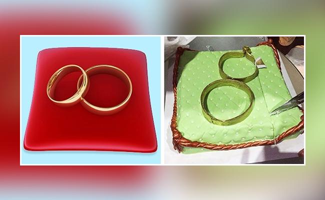 handcuff cake