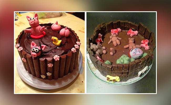 piglets cake